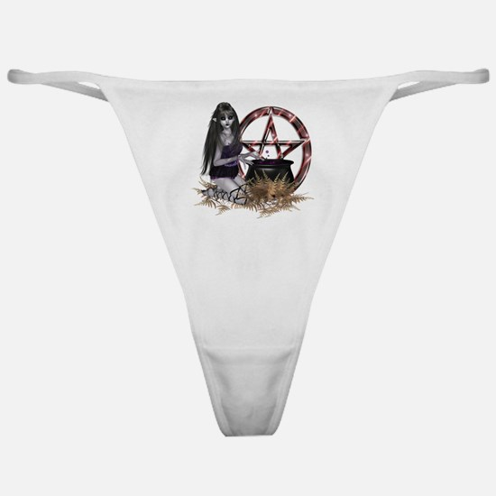 Wiccan Pentacle Classic Thong