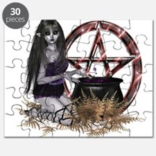 Wiccan Pentacle Puzzle