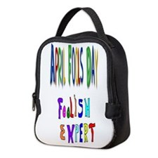 April Fools Expert Neoprene Lunch Bag