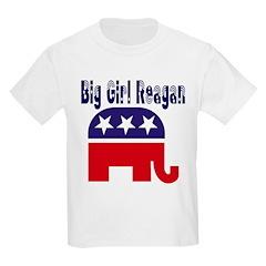 Big Girl Reagan Kids T-Shirt