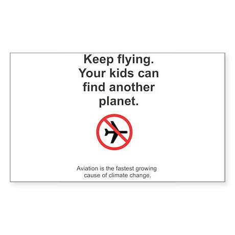 Flying Kills Sticker