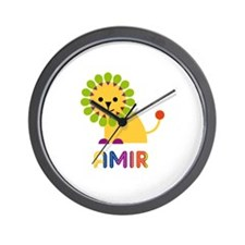 Amir Loves Lions Wall Clock