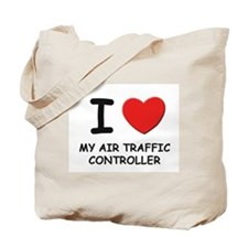I love air traffic controllers Tote Bag