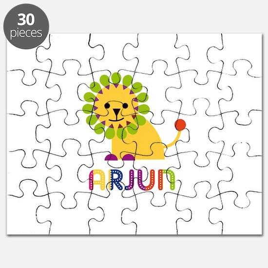 Arjun Loves Lions Puzzle