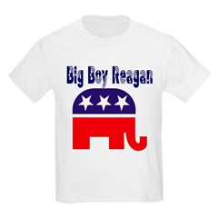 Big Boy Reagan Kids T-Shirt