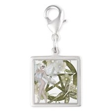 Beautiful fairy with pentacle Charms