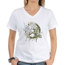 Beautiful fairy with pentacle T-Shirt