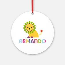 Armando Loves Lions Ornament (Round)