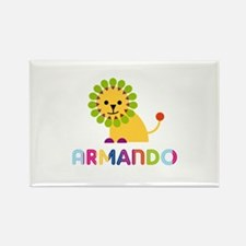 Armando Loves Lions Rectangle Magnet