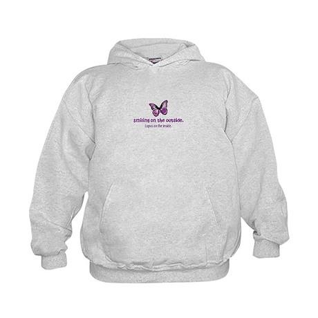 lupus awareness shirt Kids Hoodie