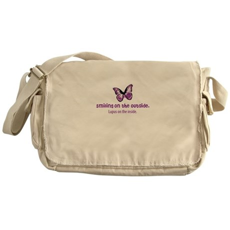 lupus awareness shirt Messenger Bag