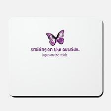 lupus awareness shirt Mousepad