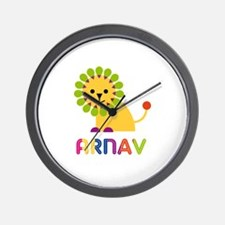 Arnav Loves Lions Wall Clock