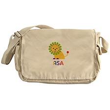 Asa Loves Lions Messenger Bag