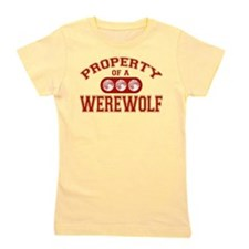 Property Of A Werewolf Girl's Tee