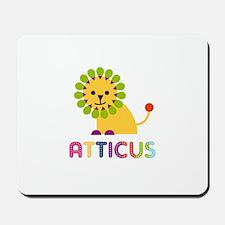 Atticus Loves Lions Mousepad