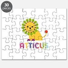 Atticus Loves Lions Puzzle