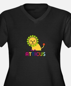 Atticus Loves Lions Plus Size T-Shirt