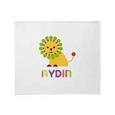 Aydin Loves Lions Throw Blanket