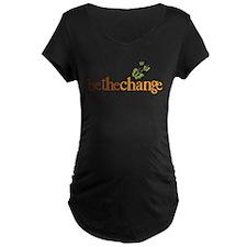 Be the change - Earthy - Butterflys Maternity T-Sh