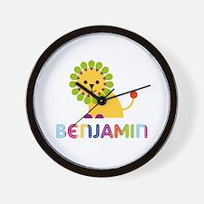 Benjamin Loves Lions Wall Clock