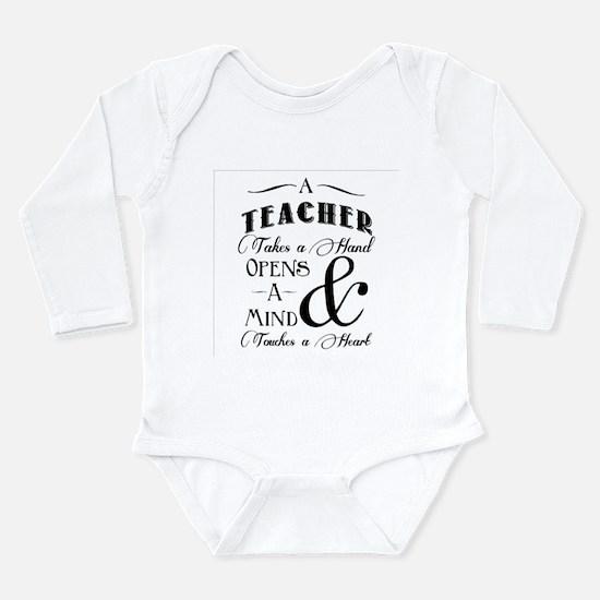 Teachers open minds Body Suit