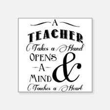 Teachers open minds Sticker