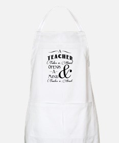 Teachers open minds Apron