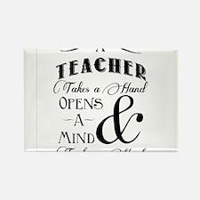 Teachers open minds Rectangle Magnet