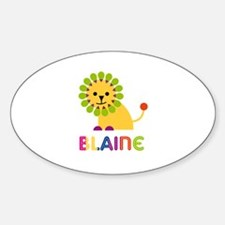 Blaine Loves Lions Decal