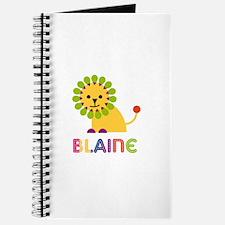 Blaine Loves Lions Journal