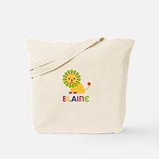 Blaine Loves Lions Tote Bag