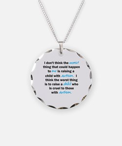 I don't think the worst (Autism) Necklace