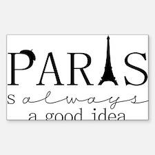 Oui! Oui! Paris anyone? Decal