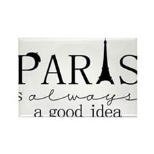 Oui! Oui! Paris anyone? Rectangle Magnet