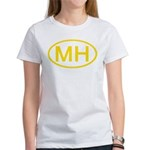 MH Oval - Marshall Islands Women's T-Shirt