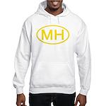 MH Oval - Marshall Islands Hooded Sweatshirt
