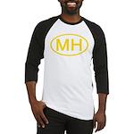 MH Oval - Marshall Islands Baseball Jersey