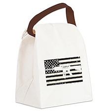 AMERICA Canvas Lunch Bag