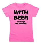 FIN-beer-all-things... Girl's Tee