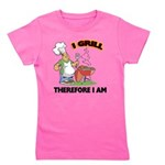 FIN-grill-therefore-i-am.png Girl's Tee