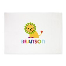Branson Loves Lions 5'x7'Area Rug