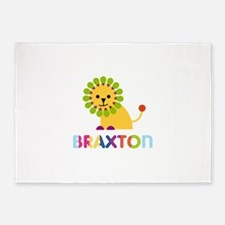 Braxton Loves Lions 5'x7'Area Rug