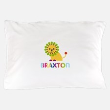 Braxton Loves Lions Pillow Case
