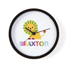 Braxton Loves Lions Wall Clock
