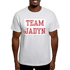 TEAM JADYN  Ash Grey T-Shirt