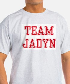 TEAM JADYN  Ash Grey T-Shirt