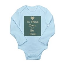 Be true to yourself! Body Suit