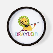 Braylon Loves Lions Wall Clock