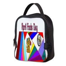 April Fools Day Neoprene Lunch Bag
